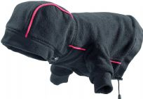 Hunter Dog Leisure Coat Black with Red Seam
